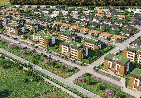 Fotka galérie Vizualizácie bytových domov - 1